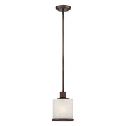 Millennium Lightings Dalton Mini-Pendant Offered in Rubbed Bronze finish, Item Number 1501-RBZ