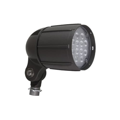 LED Bullet Flood Light, 12W, 120-277V, 1460 Lumens, 5000K