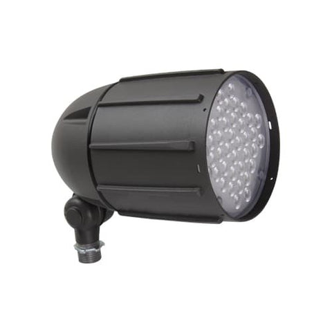 LED Bullet Flood Light, 40W, 120-277V, 4650 Lumens, 5000K