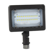 "LED Flood/Area Light, 15 watt, shown w/ 1/2"" knuckle mount  - Image #1"