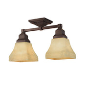Millennium Lightings Semi-Flush Offered in Euro Bronze finish, Item Number 1802-EB