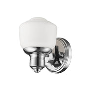 Millennium Lighting 1 Light Sconce, Chrome Finish
