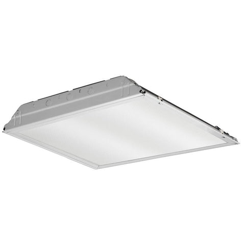 Grid Mount Bare Troffer 2x2 Light Fixture