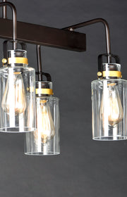 Magnolia 6-Light Linear Pendant  - Image #2