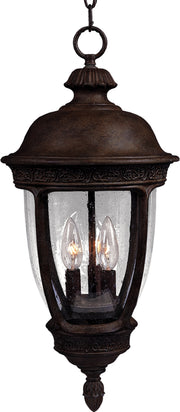 Knob Hill Cast 3-Light Outdoor Hanging Lantern  - Image #1
