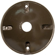 4 in. Round Weatherproof Covers - One Hole 1/2 in. Bronze  - Image #1
