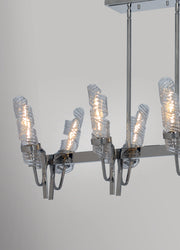 Milano 8 Light Linear Chandelier  - Image #2