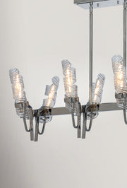 Milano 8 Light Linear Chandelier  - Image #3
