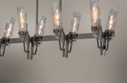 Milano 8 Light Linear Chandelier  - Image #4