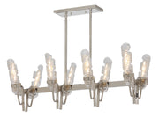 Milano 8 Light Linear Chandelier  - Image #1