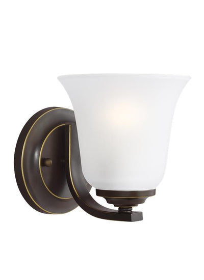 4139001-782, One Light Wall / Bath Sconce , Emmons Collection