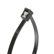"Gardner Bender 46-308UVBSC 8"" Self Cutting Cable Tie, black, 50lb; 50 per bag  - Image #1"