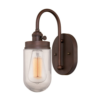 Millennium Lighting Neo-Industrial Sconce - Rubbed Bronze