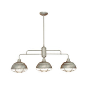 Millennium Lighting Neo-Industrial Island Light 5313 Series (Satin Nickel Finish)