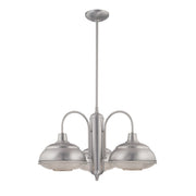 Millennium Lighting Neo-Industrial Chandelier 5333 Series (Available in Satin Nickel or Bronze Finishes)