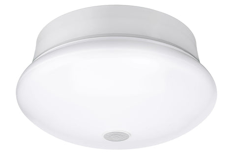 LED 7 inch Spin Light Flushmount with PIR Motion Sensor, 11.5 watt, 120V, 4000K