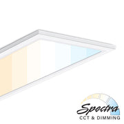 1 x 4 Foot Spectra LED Flat Panel with 4-Way Adjustable Color Temperature, 40 watt, 100-277V  - Image #1