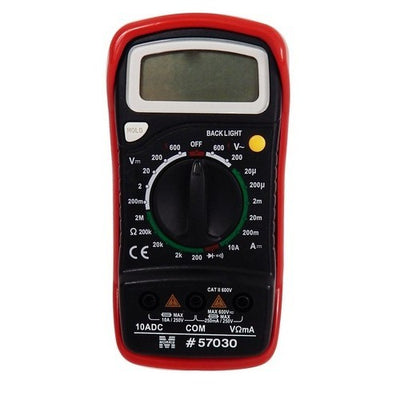 Digital Multimeter with Rubber Holster