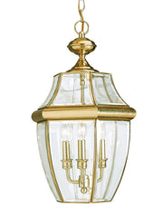 6039-02, Three Light Outdoor Pendant , Lancaster Collection