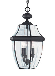 6039-12, Three Light Outdoor Pendant , Lancaster Collection