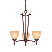 Millennium Lightings Racine Chandelier Offered in Rubbed Bronze finish, Item Number 6523-RBZ