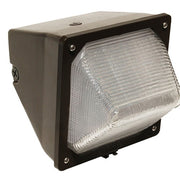 LED Small Wall Pack, 30 Watt - Bronze Finish
