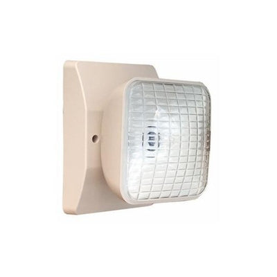 Remote Incandescent Emergency Lamp Head Square 1 Head