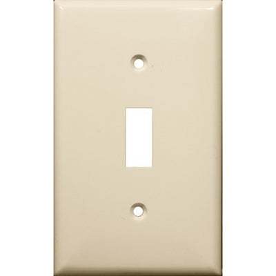 Lexan Wall Plates 1 Gang Toggle Switch Almond