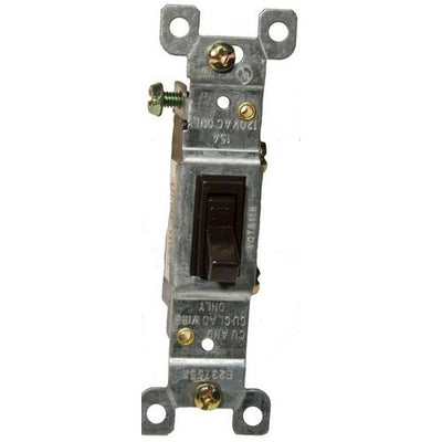Toggle Switch 3 Way 15A-120/277V