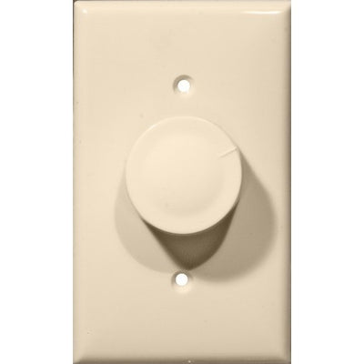 Rotary Dimmer Almond Single Pole (Push On/Off)