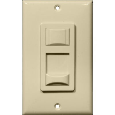Fluorescent & CFL Dimmer Ivory Single Pole