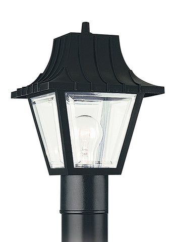 8275-32, One Light Outdoor Post Lantern , Polycarbonate Outdoor Collection