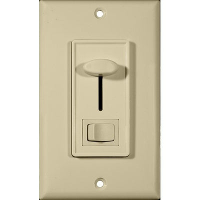 Slide Dimmer With Switch Ivory 3-Way