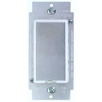 Touch Dimmer 600W Single Pole White
