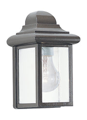 8588-10, One Light Outdoor Wall Lantern , Mullberry Hill Collection