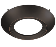 Oil Rubbed Bronze Trim for 7.5 Inch Flush Mount Disk Light with TwistFit Mounting System  - Image #3