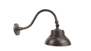 "10"" LED Gooseneck Barn Light, 25 watt (Bronze)  - Image #8"