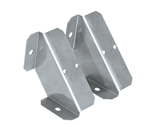 Angular Surface Mount Brackets for 2 or 4 Foot RAB Linear Washdown