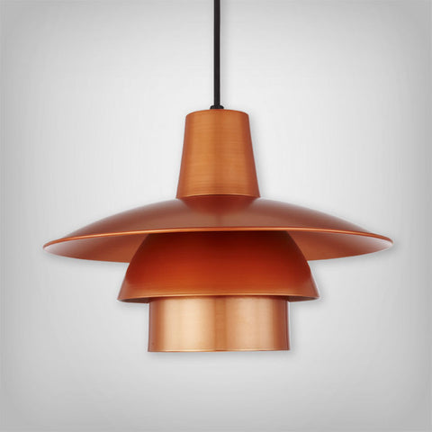 Atomic Series Shade, 16 Inch, Multiple Finishes Available
