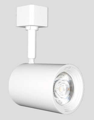 LED Track Head, 7 Watt, 120 Volt, 650 Lumens, 2700K, 3000K or 4000K, White Finish