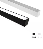 8 Foot LED Suspended Linear Fixture, 100W, 100-277V
