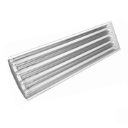 4 Foot Linear High Bay Fixture; 4, 6 or 8 Lamp Positions; LED Ready