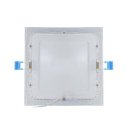 6 Inch Square Slim LED Downlight, 12W, 120V, 900 Lumens, 3000K, 4000K, 5000K  - Image #4
