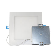 6 Inch Square Slim LED Downlight, 12W, 120V, 900 Lumens, 3000K, 4000K, 5000K  - Image #5