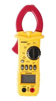 Sperry Instruments DSA600TRMS Digital Clamp Meter, 600A AC, TRMS, Temp  - Image #1