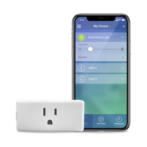 Leviton Decora Smart Wi-Fi Plug-in Outlet, Amazon Alexa / Google Assistant Compatible