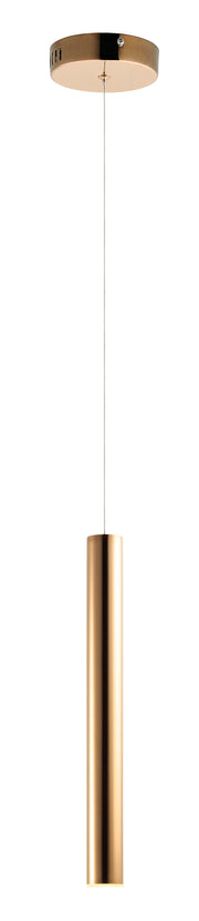 Flute LED 1-Light Pendant E10011-RG   - Image #1