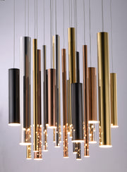 Flute LED 29-Light Pendant E10020-MPLT Suspension Chandelier  - Image #2