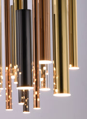Flute LED 29-Light Pendant E10020-MPLT Suspension Chandelier  - Image #3