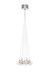 Starburst 7-Light Pendant E20114-25 Single-Tier Chandelier  - Image #1